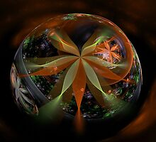 A Floral Globe for Autumn by plunder
