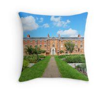British Victorian Workhouse Throw Pillow