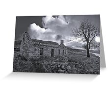 Broken home Greeting Card