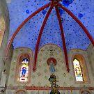 Country Church of Bugarach by HELUA