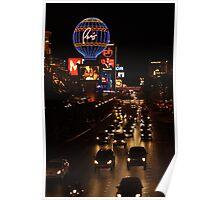 Las Vegas...At Night.... Poster