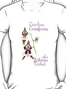 Ballerina Orchid (Wild Orchid Series II) T-Shirt