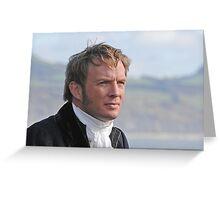 Rupert Penry Jones as Captain Wentworth - Jane Austen's Persuasion Greeting Card