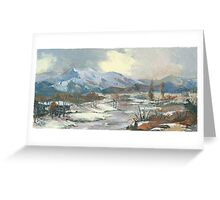 Winter Wonderland - The Eternal, Magical Winter… Greeting Card