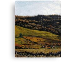 Late Fall Pasture Canvas Print