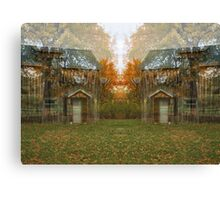Trees and a Studio Canvas Print