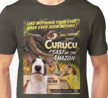 Bull Terrier Art - Curucu Movie Poster Unisex T-Shirt