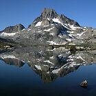 Banner Peak Reflection by Rebecca Sowards-Emmerd