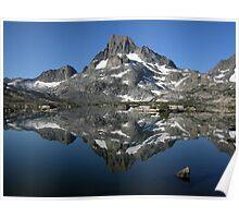 Banner Peak Reflection Poster