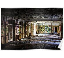 The abandoned ballroom Poster