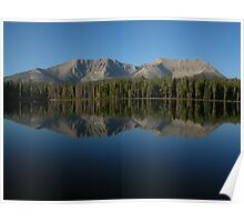 Morning at Moraine Lake Poster