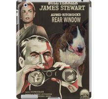 Bull Terrier Art - Rear Window Movie Poster iPad Case/Skin