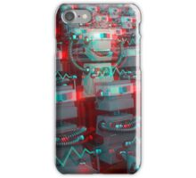 Retro 3D Robot Cinema iPhone Case/Skin