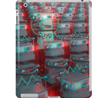 Retro 3D Robot Cinema iPad Case/Skin