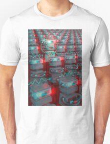 Retro 3D Robot Cinema T-Shirt