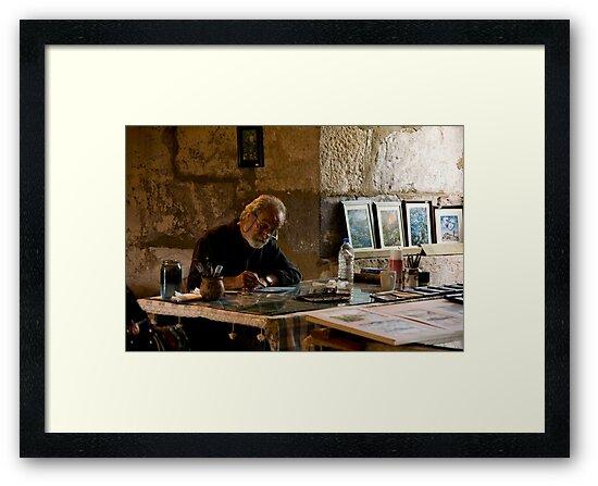 Artist's Studio by phil decocco
