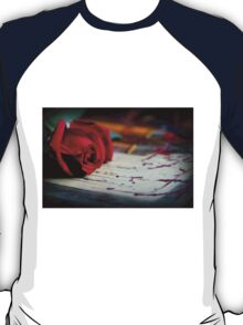 Love Is ... A Red Rose T-Shirt