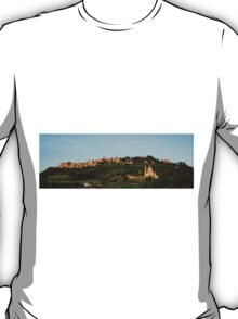 Italian Hill Town at Sunset T-Shirt