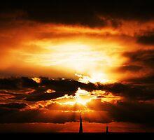 sunset by razberryjam