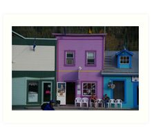 Quiet Day On The Chair Market Art Print