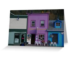Quiet Day On The Chair Market Greeting Card