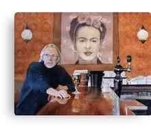 Charles and Frida Canvas Print