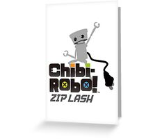 Chibi-Robo : Zip Lash Greeting Card