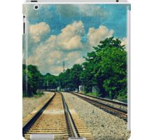 On the Train to Nowhere iPad Case/Skin