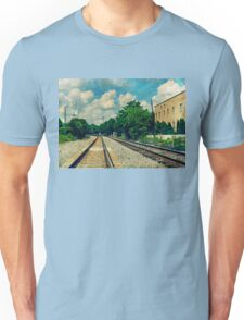 On the Train to Nowhere Unisex T-Shirt