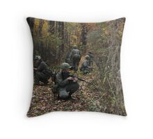 Viet Nam Re-Enactment Throw Pillow