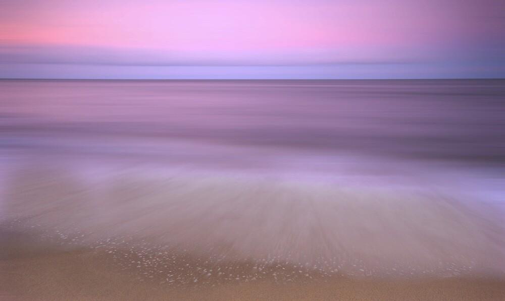 Dusk - sunset at Ella Bay by Jenny Dean