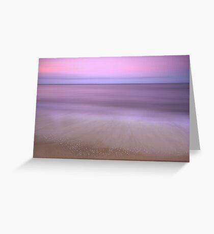 Dusk - sunset at Ella Bay Greeting Card