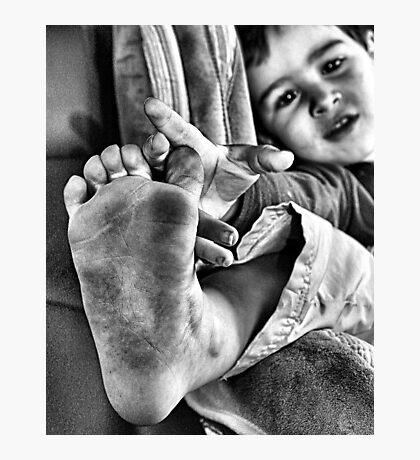 Foot Photographic Print