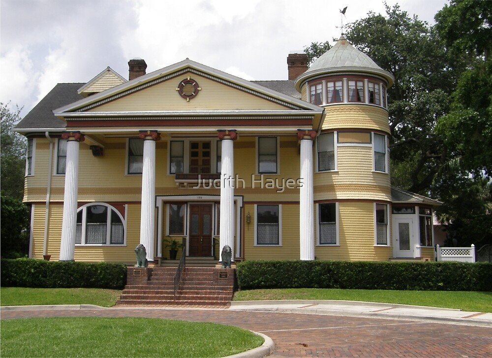 Historic Dr. Phillips House - Orlando, Florida by Judith Hayes