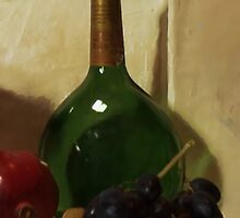 Wall Niche Still Life - Detail by Barry W  King