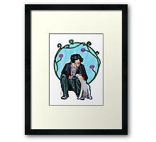 Charles Chaplin Framed Print