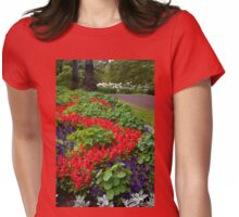 Follow the Flowers Womens Fitted T-Shirt