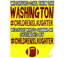 Funny Football: #CHILDRENSLAUGHTER Poster