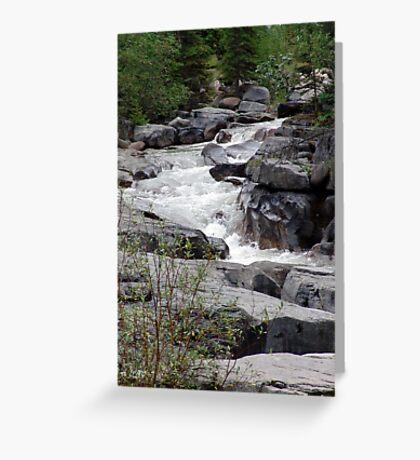 Maligne River Greeting Card