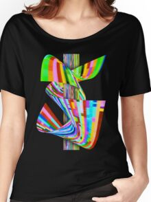 Ribbons of Digital DNA Women's Relaxed Fit T-Shirt
