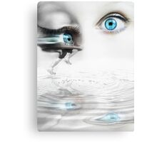 Faster than a blink of an eye Canvas Print