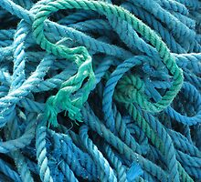 Blue Rope by Orla Cahill Photography