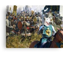 Bull Terrier Art - For King and Land Canvas Print