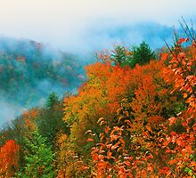 VALLEY IN THE CLOUDS by Chuck Wickham