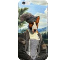Bull Terrier Art - Philippe Francois d'Arenberg meeting Troops iPhone Case/Skin