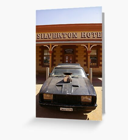 Mad Max Car Greeting Card