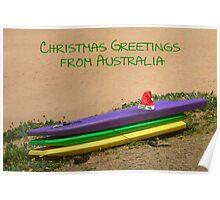 Christmas in Australia Poster