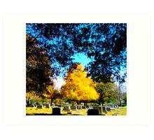 Autumn PoPs Art Print