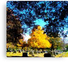Autumn PoPs Canvas Print
