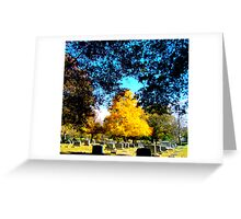 Autumn PoPs Greeting Card